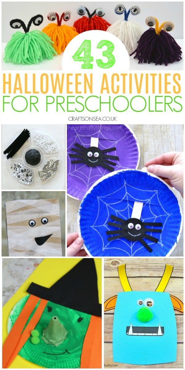 halloween activities preschool fun