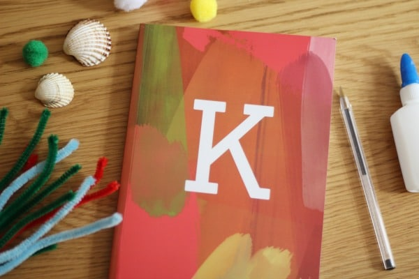 monogram softcover notebook snapfish