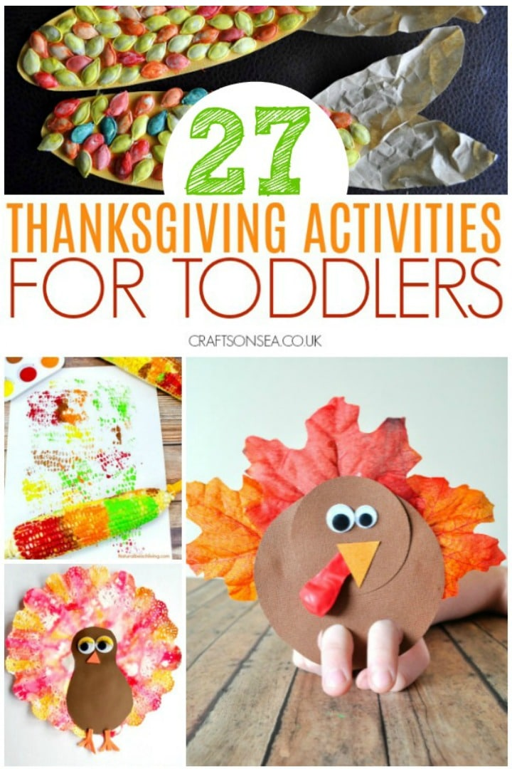 thanksgiving activities for toddlers turkey crafts and corn