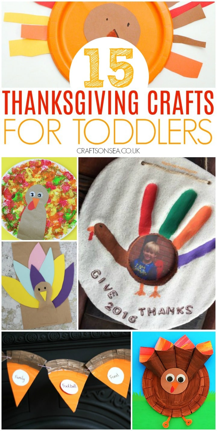 thanksgiving crafts for toddlers including turkey crafts and keepsakes
