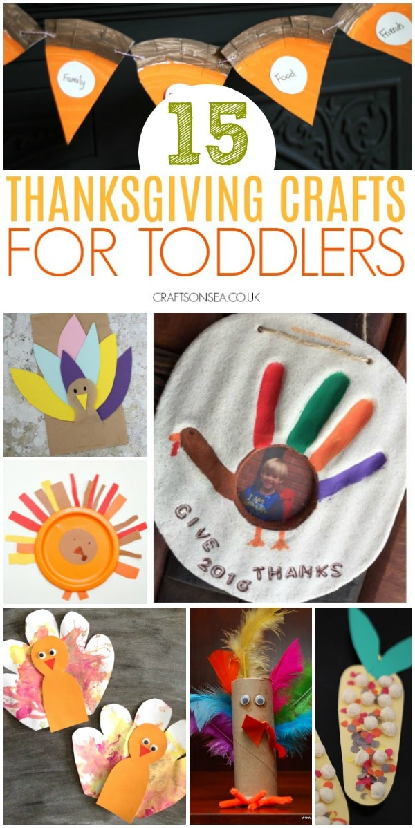 thanksgiving crafts for toddlers easy