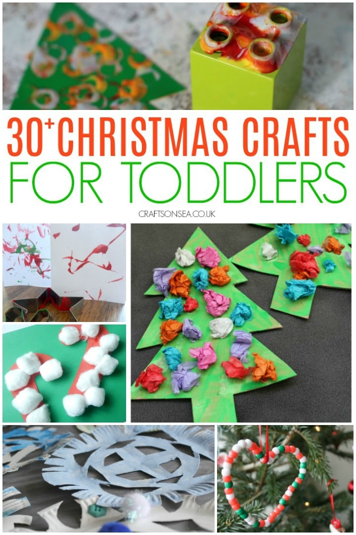 Christmas crafts for toddlers christmas trees candy canes and diy ornaments