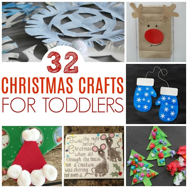 Chritmas crafts for toddlers square #christmas #christmascrafts