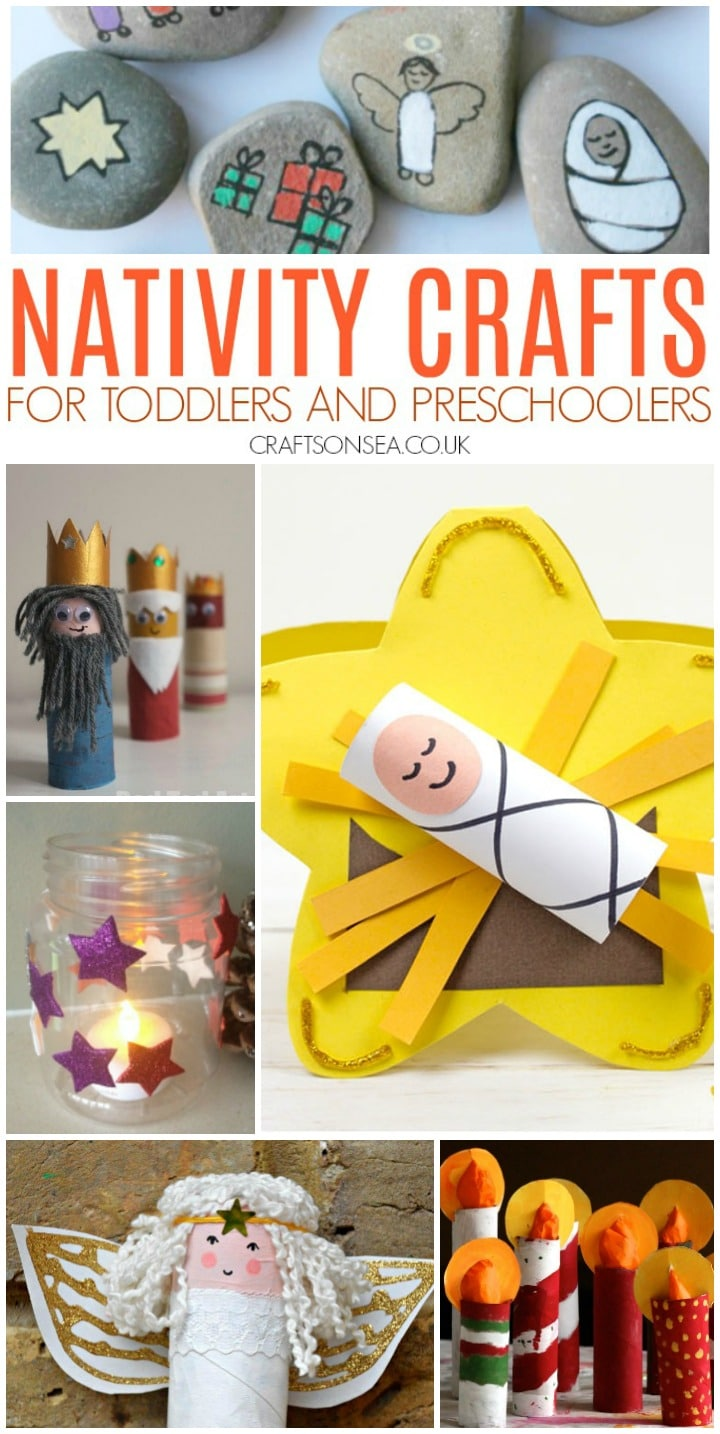 Nativity crafts for toddlers and preschoolers jesus three kings angel crafts