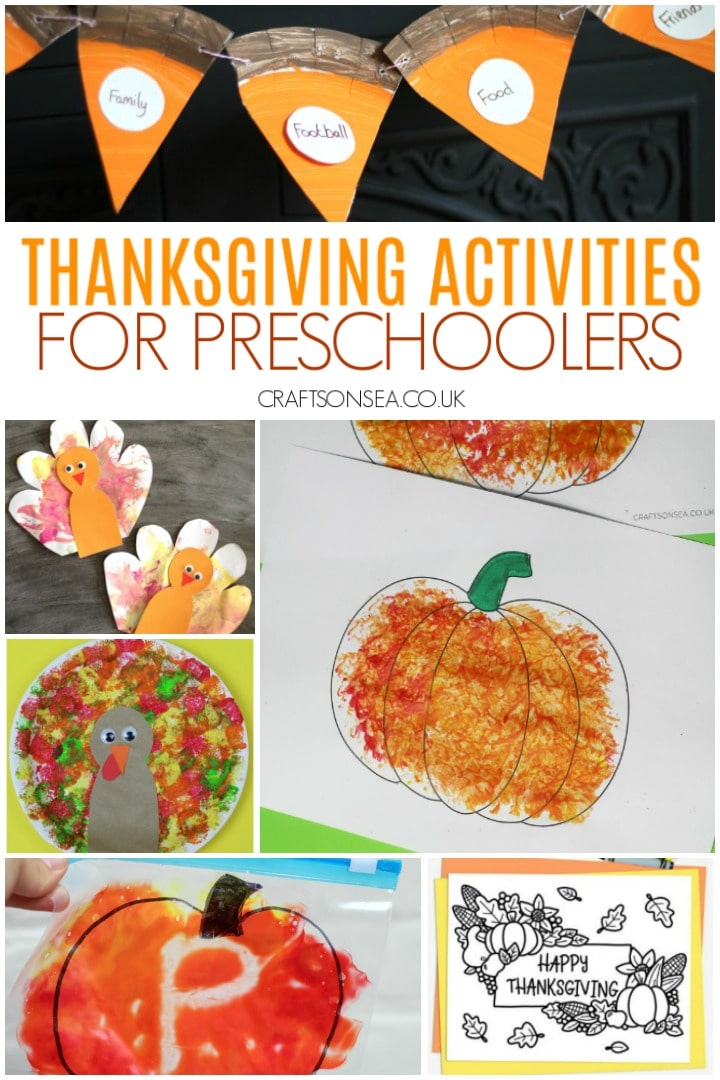 Thanksgiving activities for preschoolers with turkeys printables pumpkins