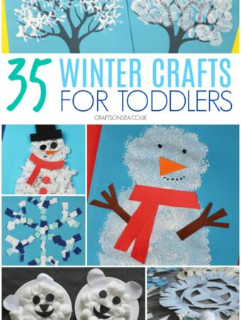 Winter crafts for toddlers to make