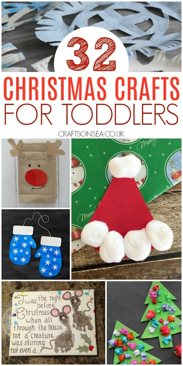 christmas crafts for toddlers easy preschool #christmas #christmascrafts #toddlercrafts