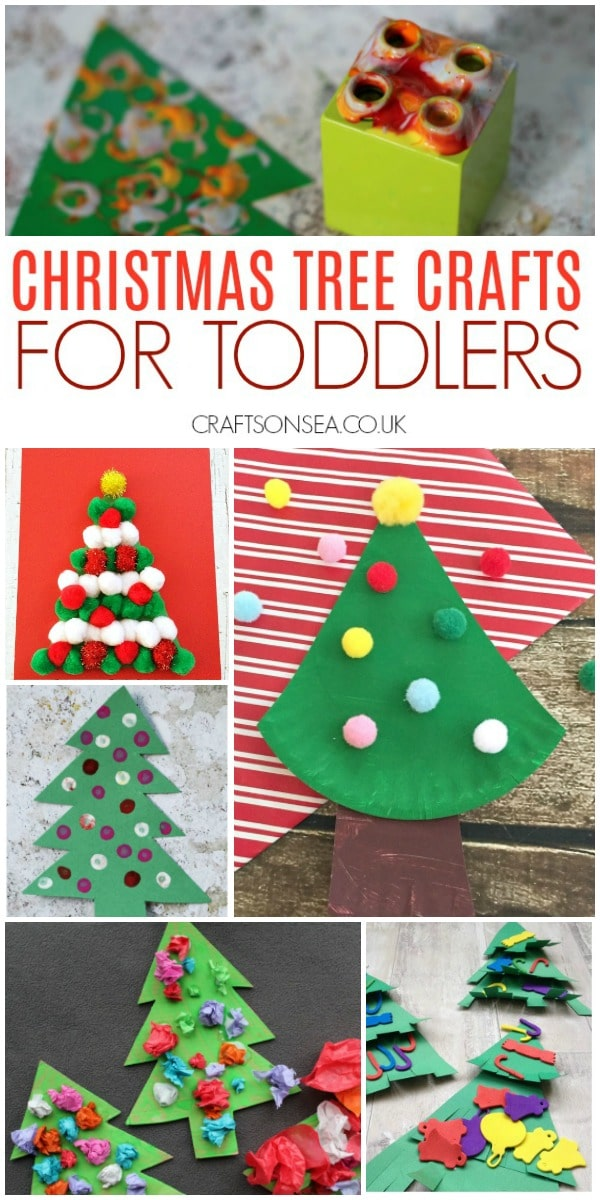 christmas tree crafts for toddlers easy #christmascrafts #christmastree #christmas