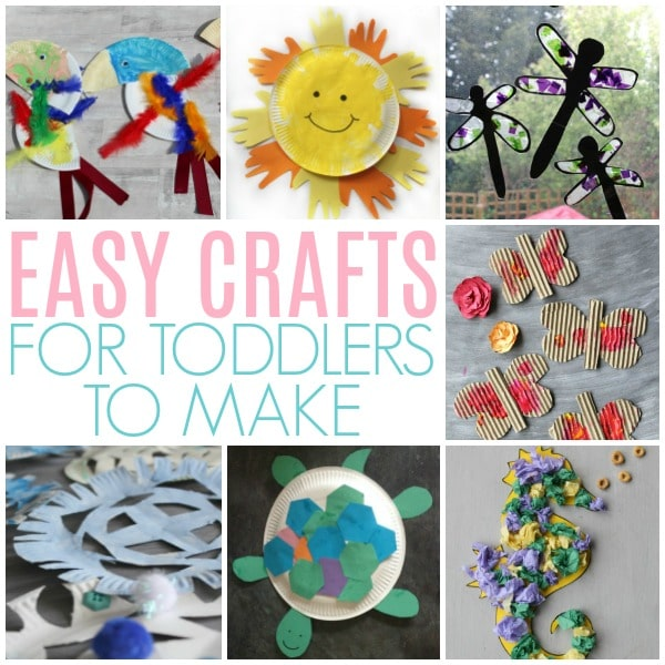 easy crafts for toddlers to make