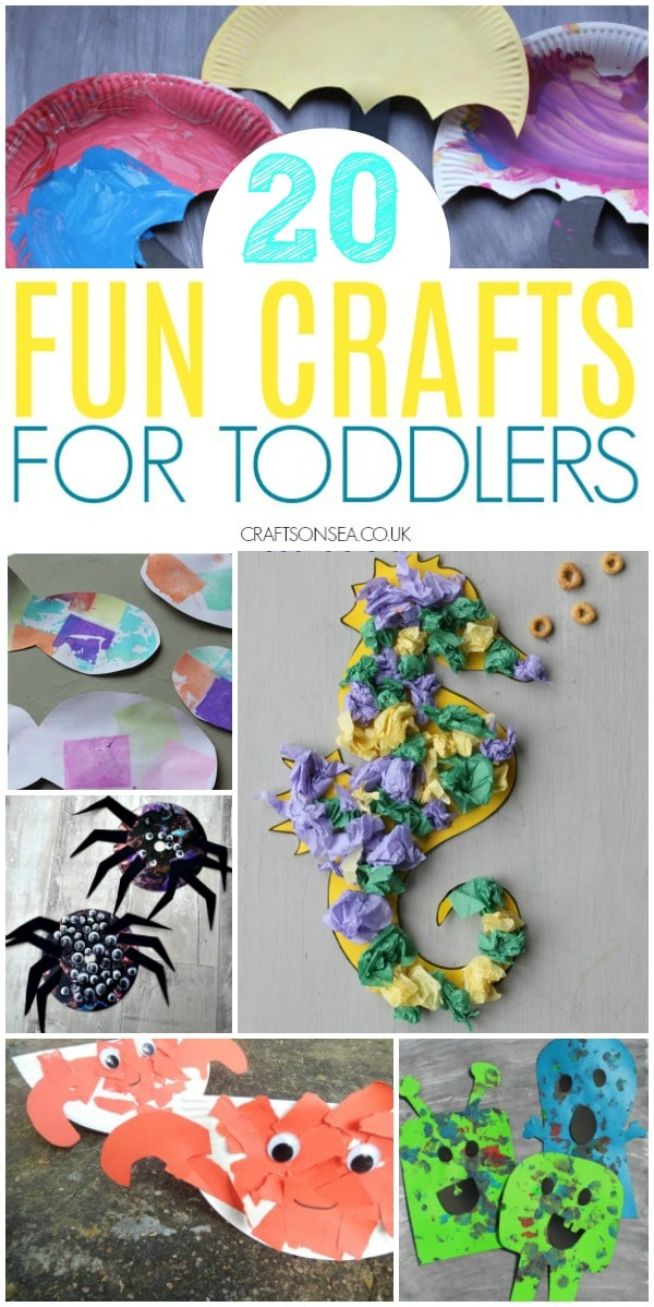 fun crafts for toddlers #toddler #craftsforkids #preschoolers