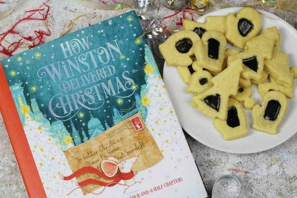 how winston delievered christmas book for kids advent