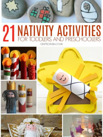 nativitiy activities for toddlers and preschoolers