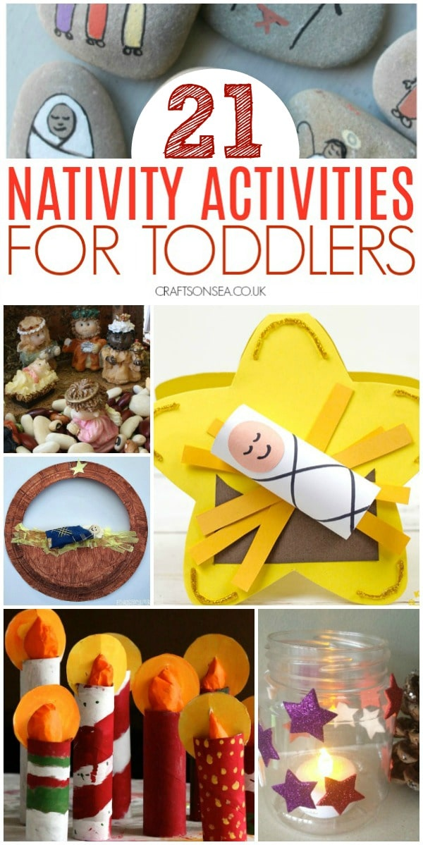 nativity activities for toddlers baby jesus #christmascraftsforkids #nativity