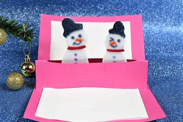 snowman pop up card-for homepage