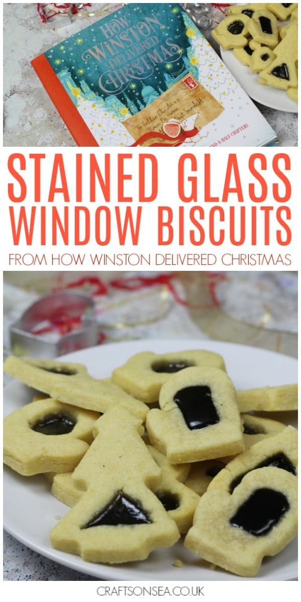 stained glass window biscuits christmas activitry for kids how winston delivered christmas #christmas #christmasactivities