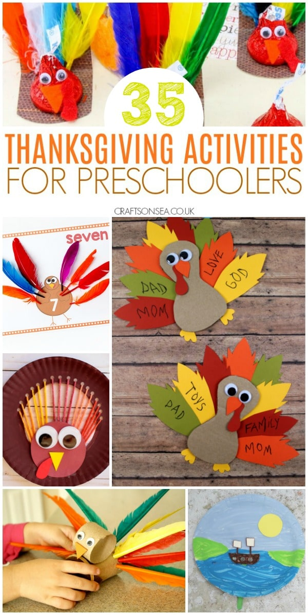 thanksgiving activities for preschoolers fun #thanksgiving #preschool