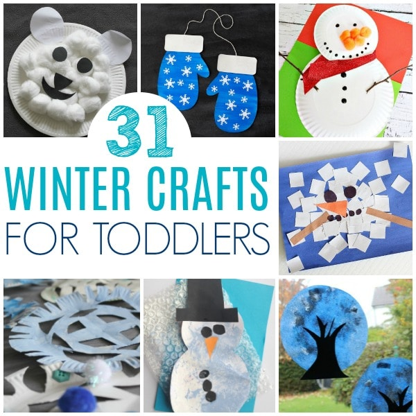winter crafts for toddlers polar bear snowman snowflakes