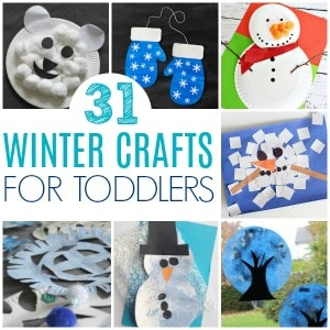 winter crafts for toddlers square image 300