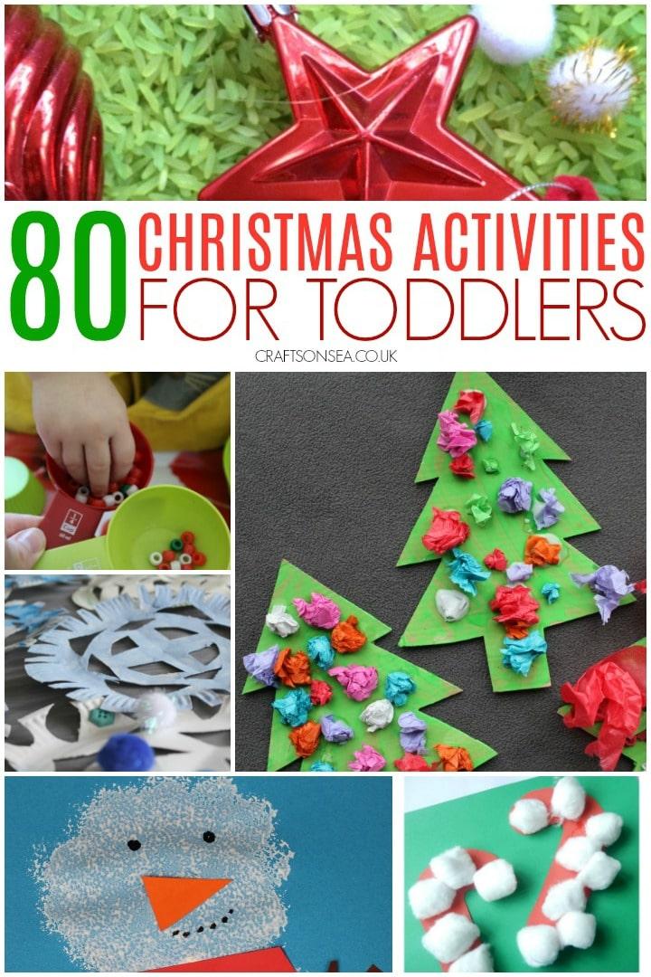 Christmas Activities for Toddlers Preschool