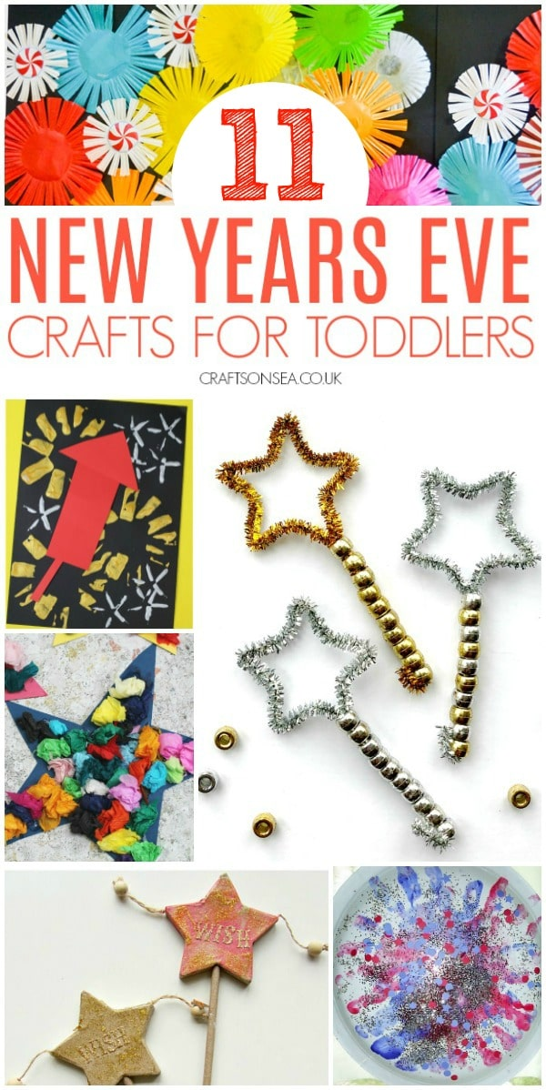 New Years Eve crafts for toddlers preschool easy
