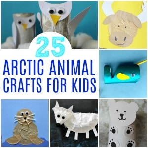 arctic animal crafts 300