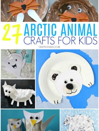 arctic animal crafts for kids polar bear crafts, narwhals, walrus crafts suitable for toddlers and preschoolers