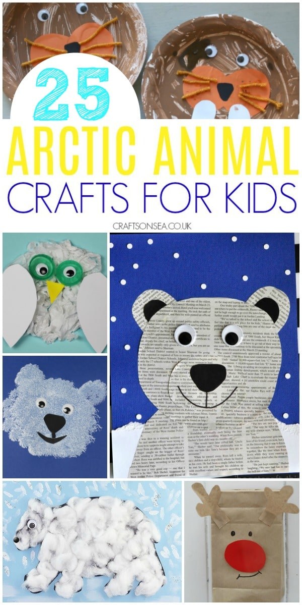 arctic animals preschool #preschool #kidscrafts #wintercrafts