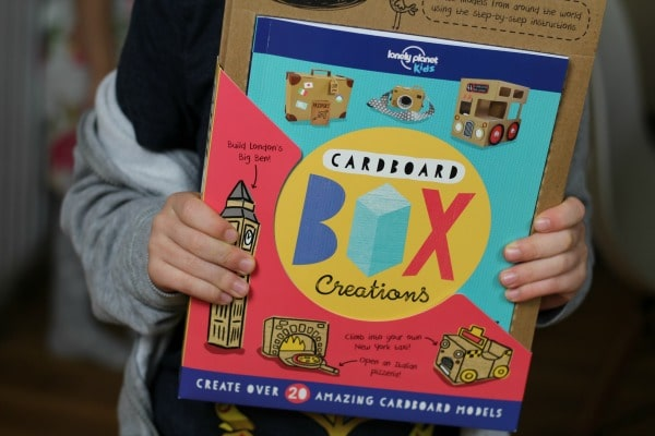 cardboard box creations lonely planet book