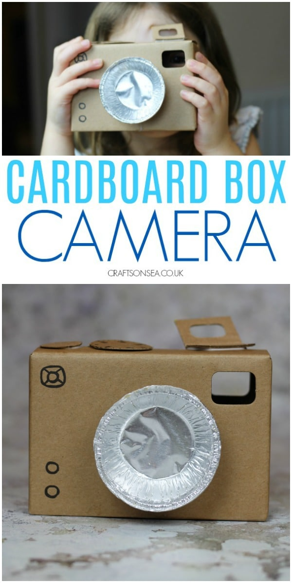 cardboard box ideas for kids camera #craftsforkids