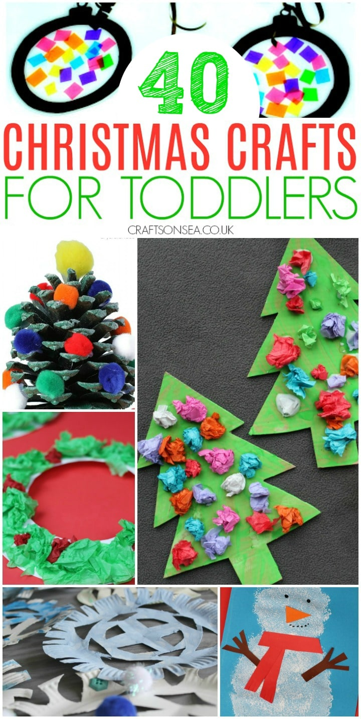 christmas crafts for toddlers to make easy eyfs