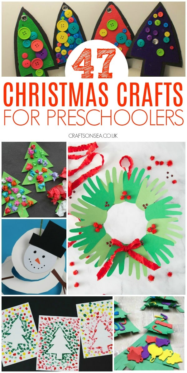 christmas crafts preschool easy #christmascraftsforkids #preschool