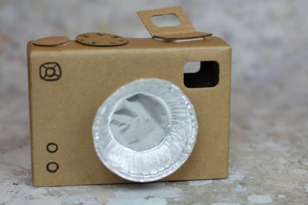 diy cardboard camera