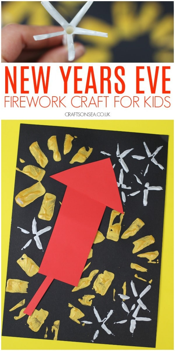 new years eve craft for kids easy