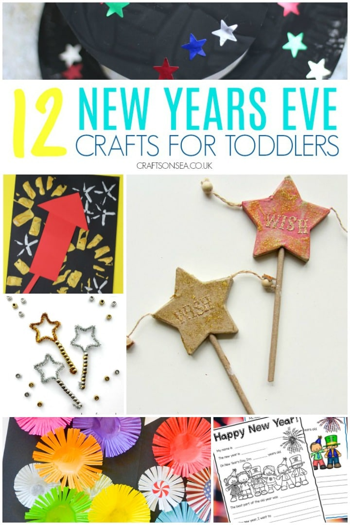new years eve crafts for toddlers easy