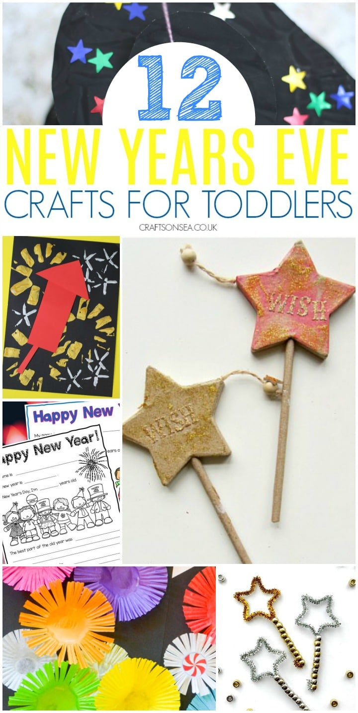 New Years Eve Crafts for Toddlers - Crafts on Sea