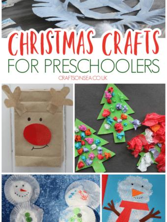 preschool christmas crafts