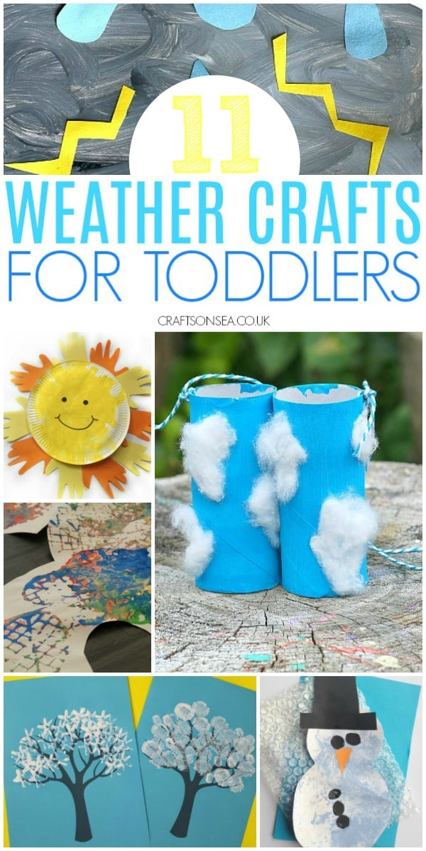 11 Easy and Fun Weather Crafts for Toddlers - Crafts on Sea