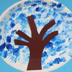winter paper plate craft