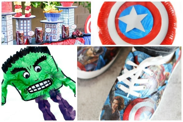 marvel crafts avengers spiderman hulk thor captain america