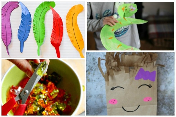 scissor skills activities and crafts