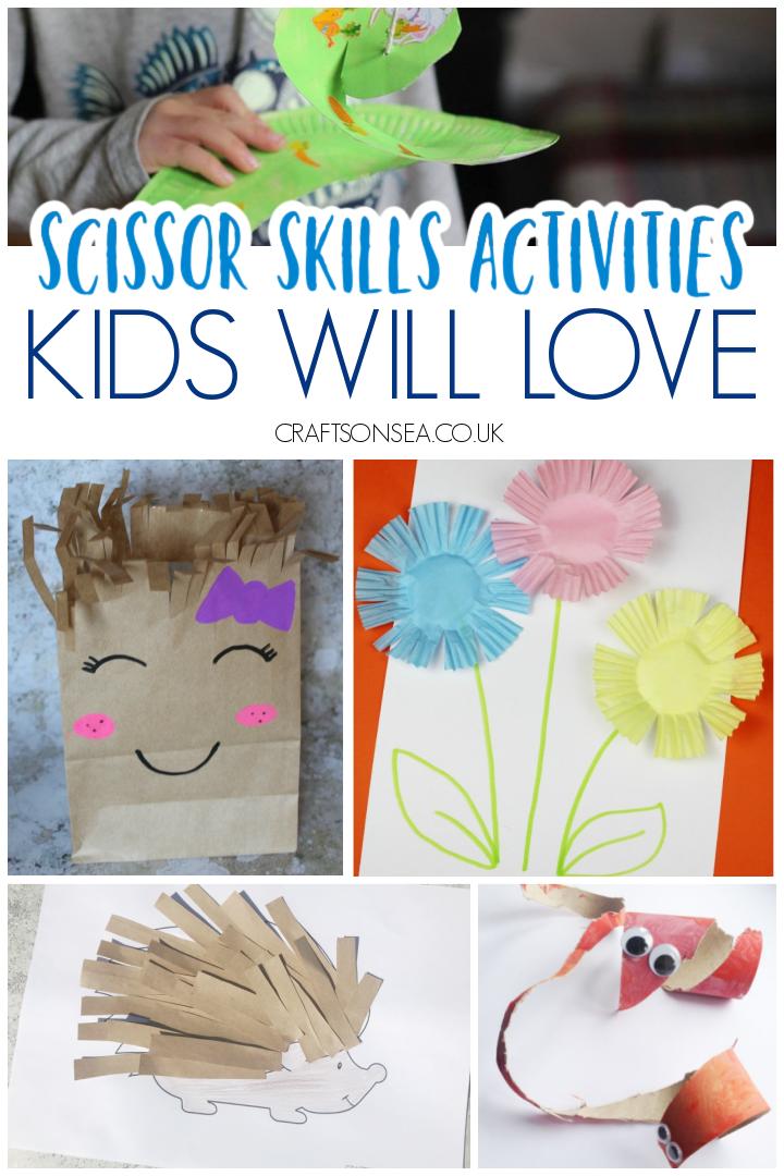 scissor skills activities