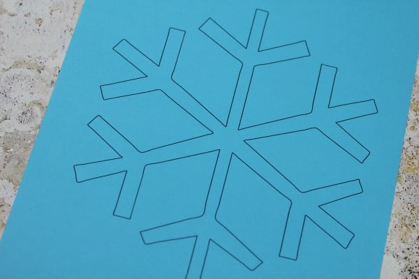 snowflake template easy pdf