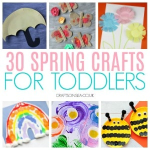 spring crafts for toddlers 300