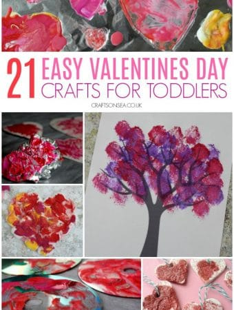 valentines day crafts for toddlers easy and fun