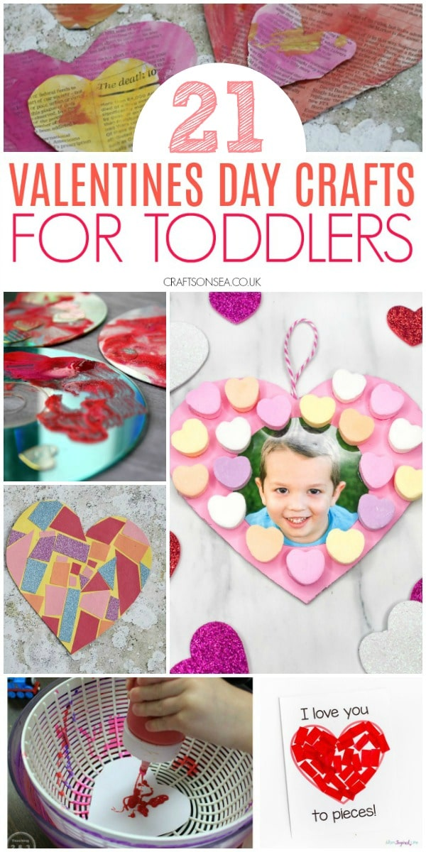 valentines day crafts for toddlers easy fun #toddlers