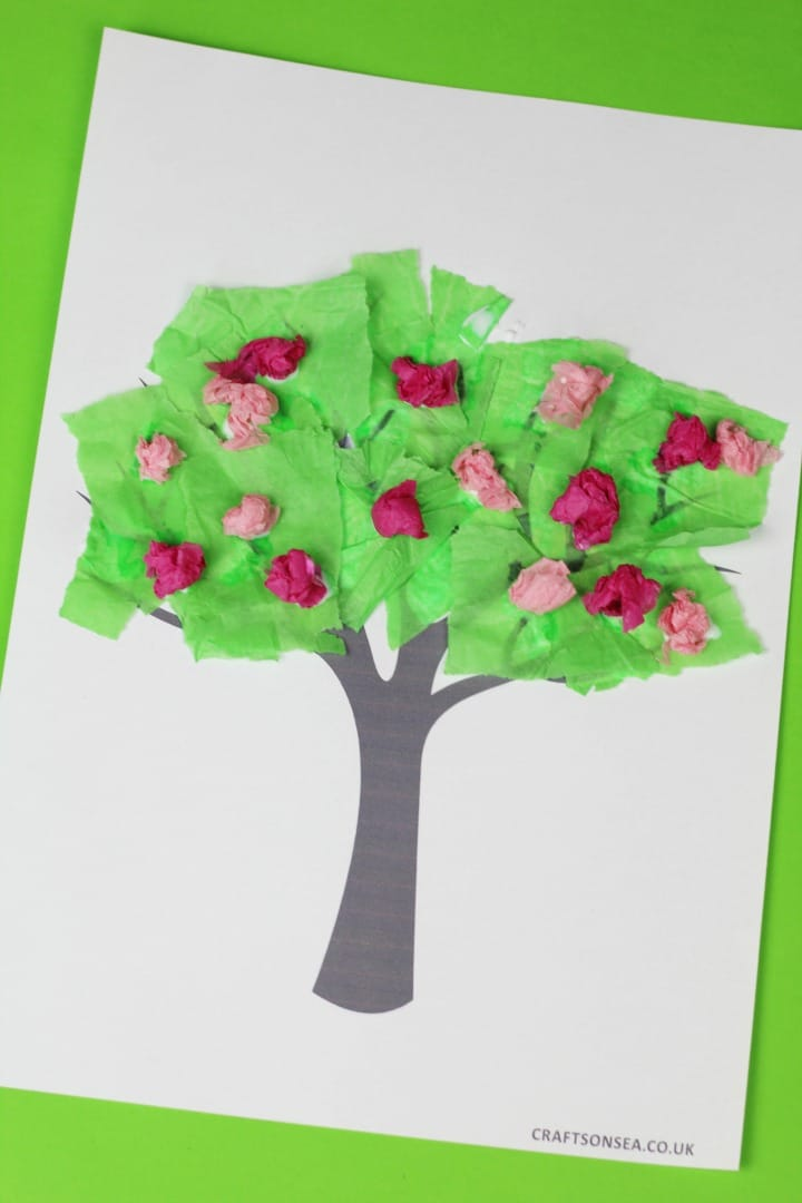 4 Easy Spring Tree Crafts For Kids Crafts On Sea