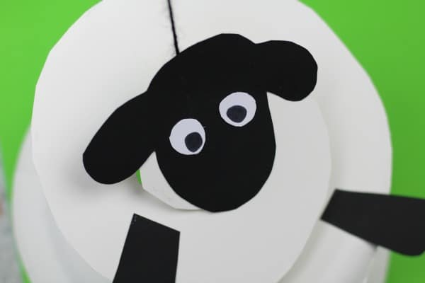 easy paper plate sheep craft scissor skills