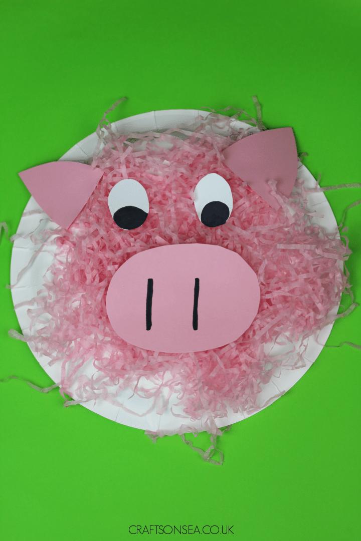 pig craft for preschoolers