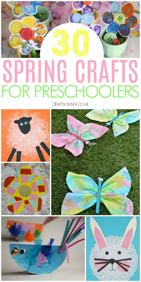 30 Easy And Fun Spring Crafts For Preschoolers Crafts On Sea