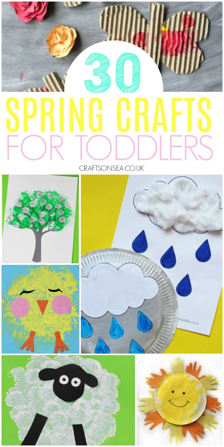 spring crafts for toddlers rain crafts spring trees chicks and sheep
